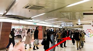 阪急梅田駅からのアクセス
