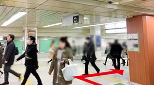 西梅田駅からのアクセス